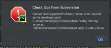mac升级后出现xcrun: error导致git、svn无法使用的解决办法
