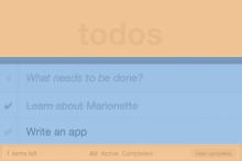 Marionette:Marionette App:Todo_主厅 TodoMVC(一)